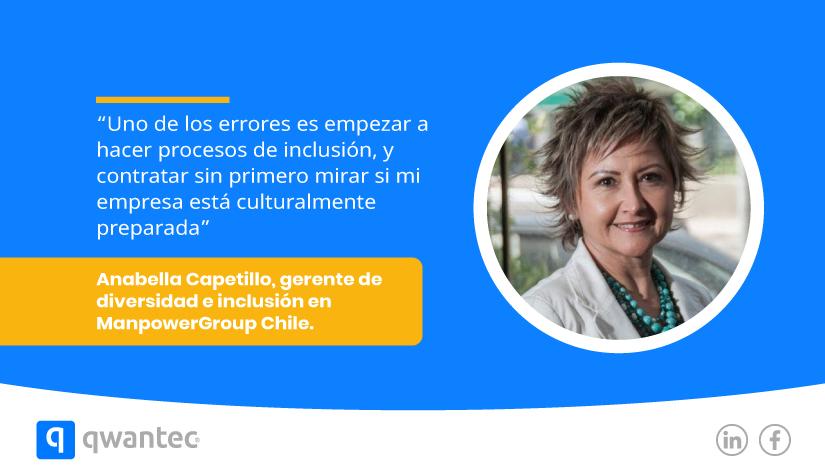 Anabella Capetillo ManpowerGroup Chile Inclusion