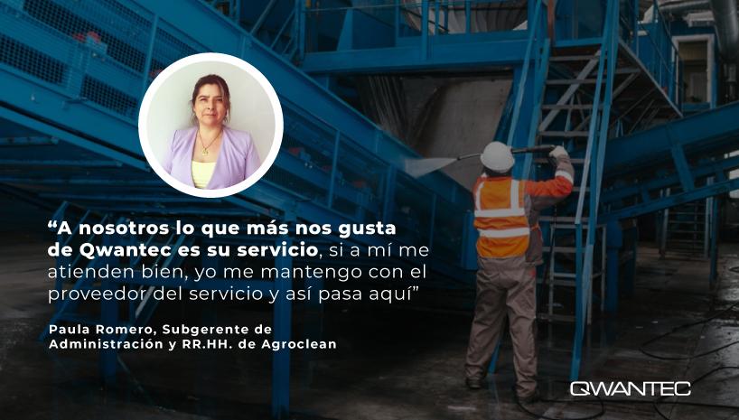 Caso de exito Agroclean Qwantec servicio