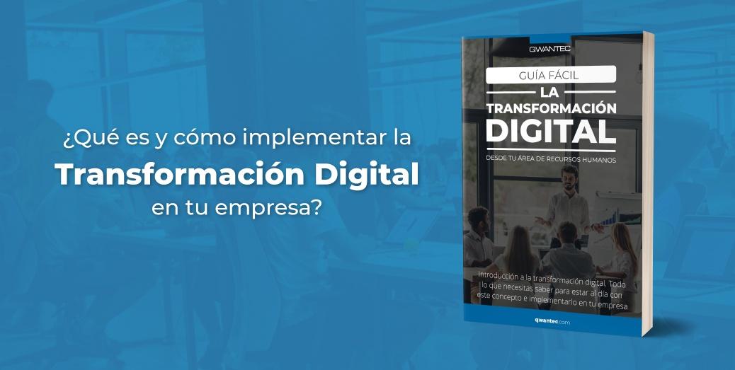 Ebook Transformacion Digital para tu area de Recursos Humanos