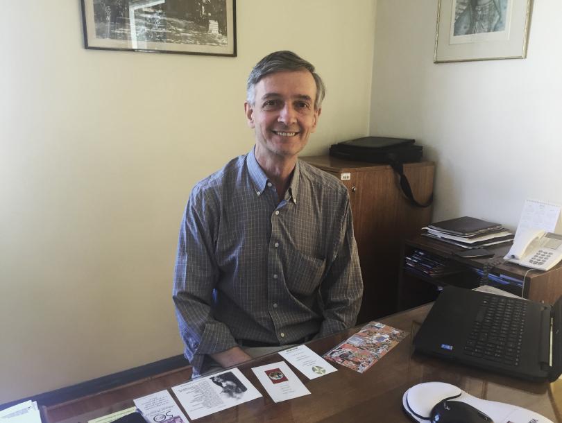 Pedro Melo  Vicerrector de administracion del Colegio SSCC Manquehue.