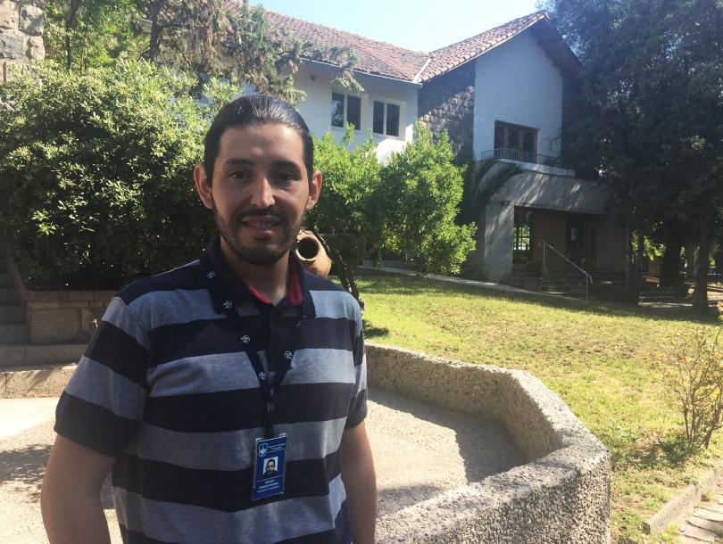 Sergio Donoso area informatica del Colegio SSCC Manquehue