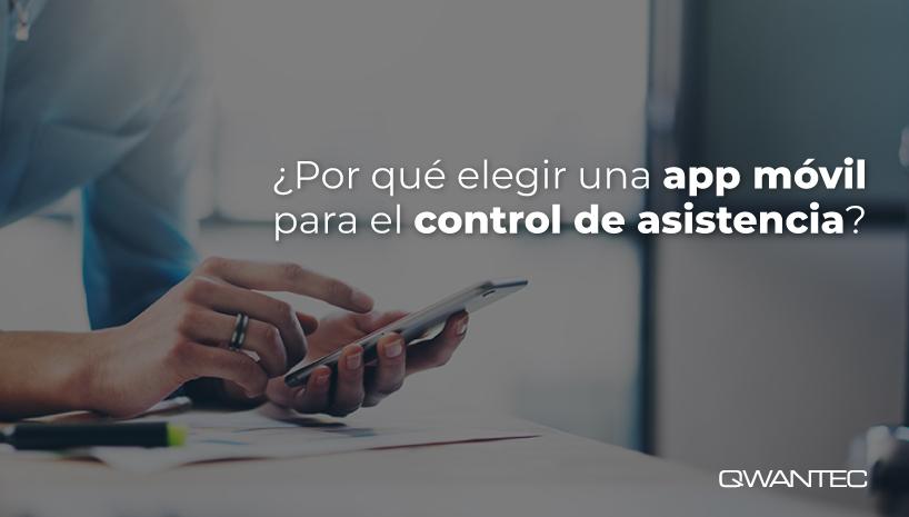 elegir app móvil  registro de asistencia
